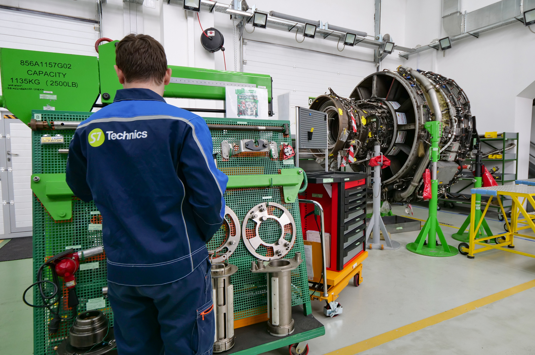 the s7 technics repair facility allows customers from russia and abroad to  benefit from highest standards of quality for engine maintenance, reduced  costs